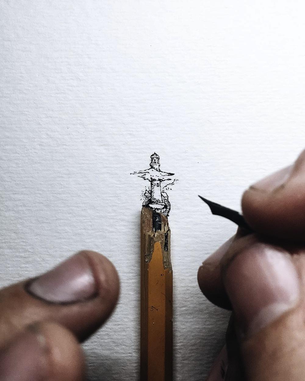Рисунки чернилами от Кристиана Уотсона