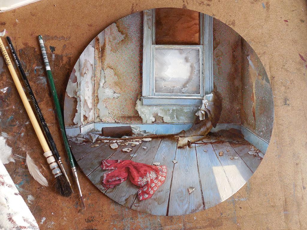 Миниатюрные миры в работах Дины Бродски (Dina Brodsky).