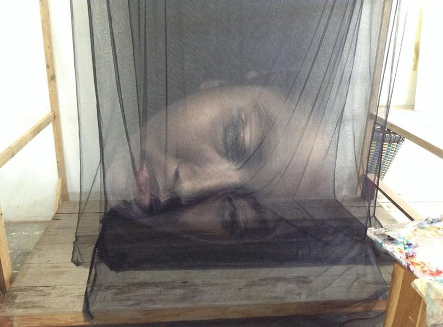 3D-искусство в загадочных портретах тайского художника