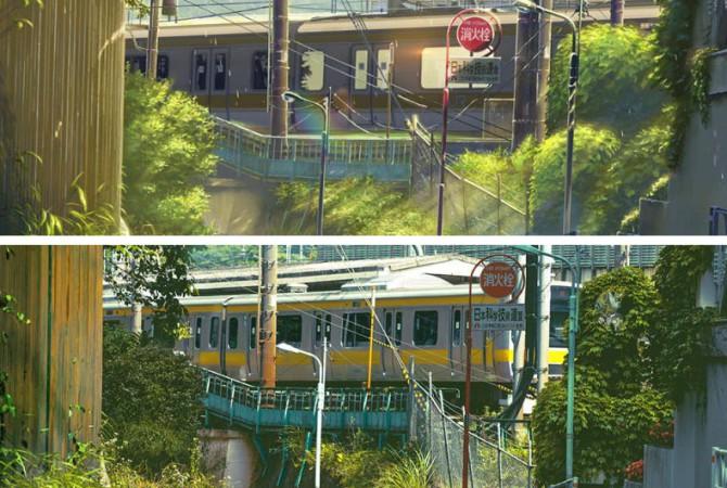 Эти сцены из аниме выглядят реальней фотографий