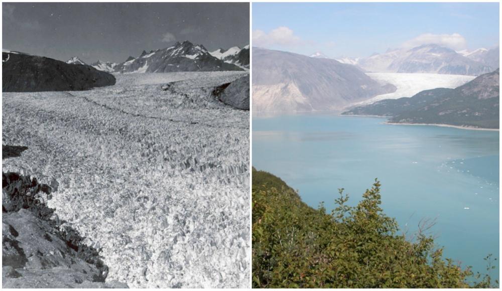 Земля тогда и сейчас