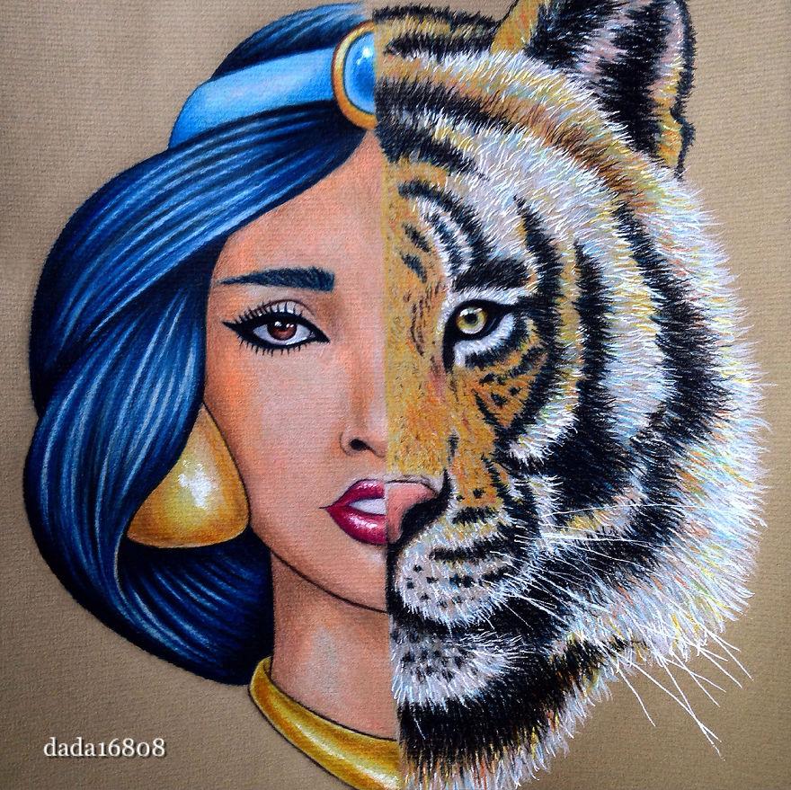 Жасмин и Раджа.«Аладдин»