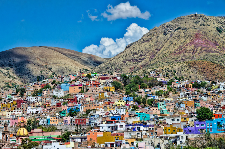 Самые красочные города мира