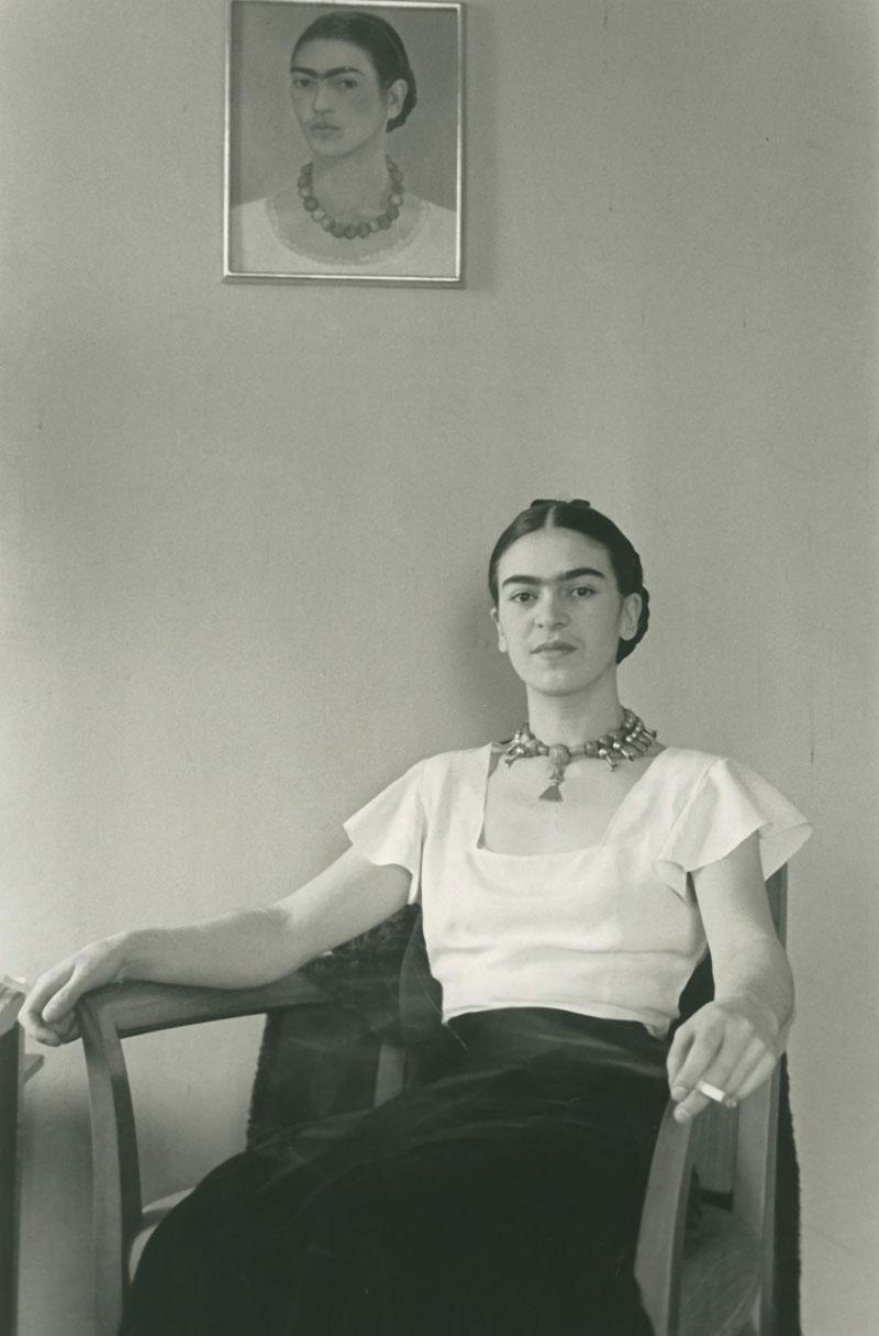 Редкие фотографии художницы Фриды Кало.