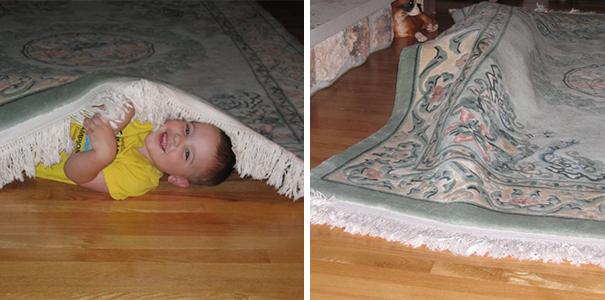 Как прячутся дети