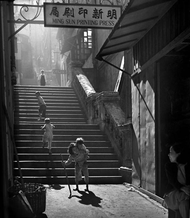 Гонконг 1950-х годов от Хо Фана
