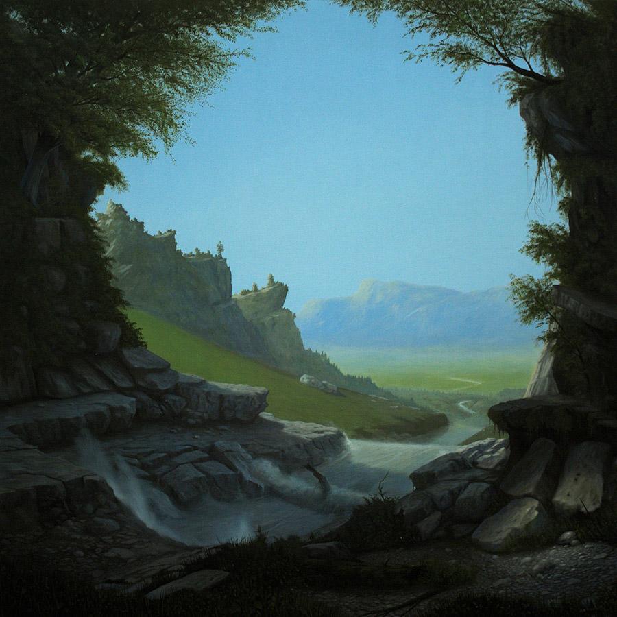 Сюрреалистические ландшафты Паоло Пиби