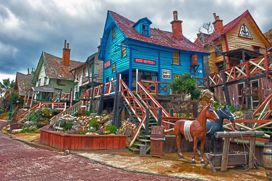 Деревня Свитхэвэн из фильма «Попай»