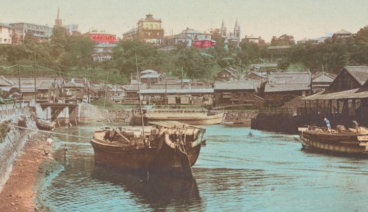 Каналы Иокогамы, 1922
