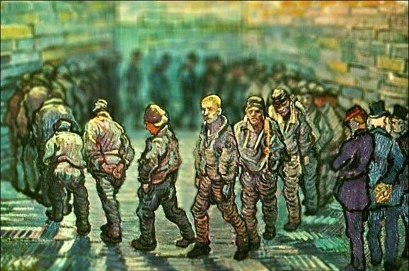Tilt-shift эффект в картинах Ван Гога