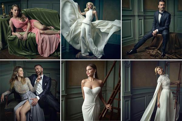 Оскар-2016: поразительные портреты знаменитостей на вечеринке Vanity Fair