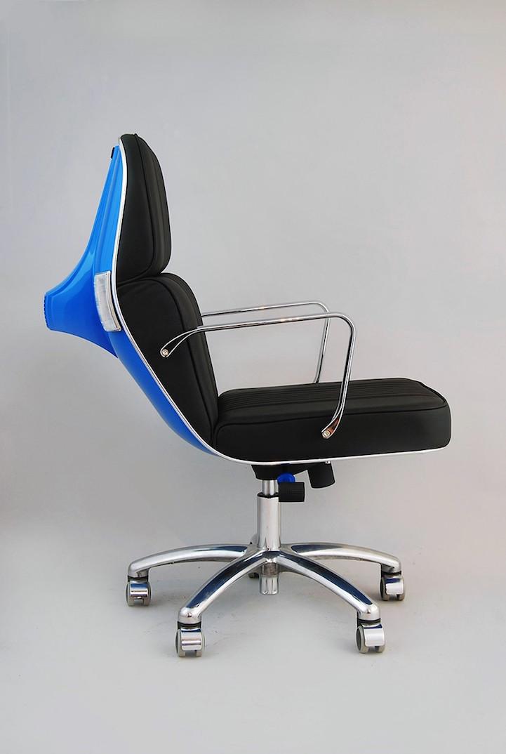 Кресла из скутеров Vespa от Bel & Bel