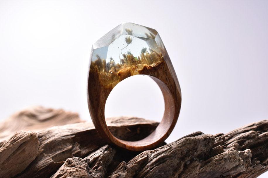 Деревянные кольца от Secret Wood