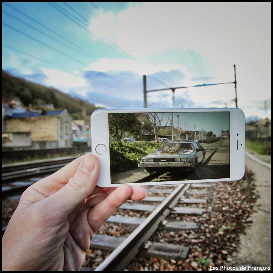 Сцены из фильмов в реальности от Франсуа Дурлена