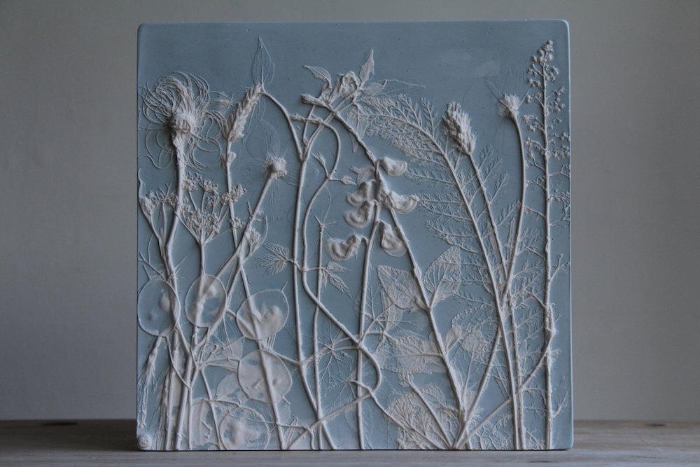 Гипсовые слепки растений от Рэйчел Дейн.