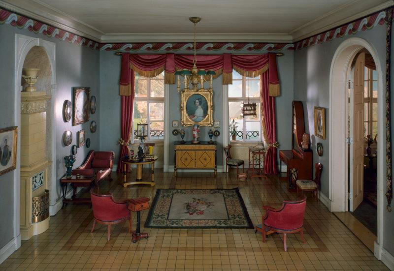 Миниатюрные Комнаты Торн (Thorne Miniature Rooms).