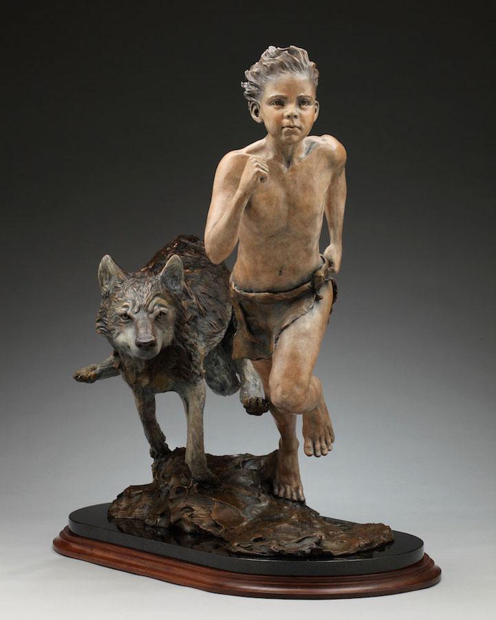 Бронзовые скульптуры от Анжелы Мии Де Ла Веги