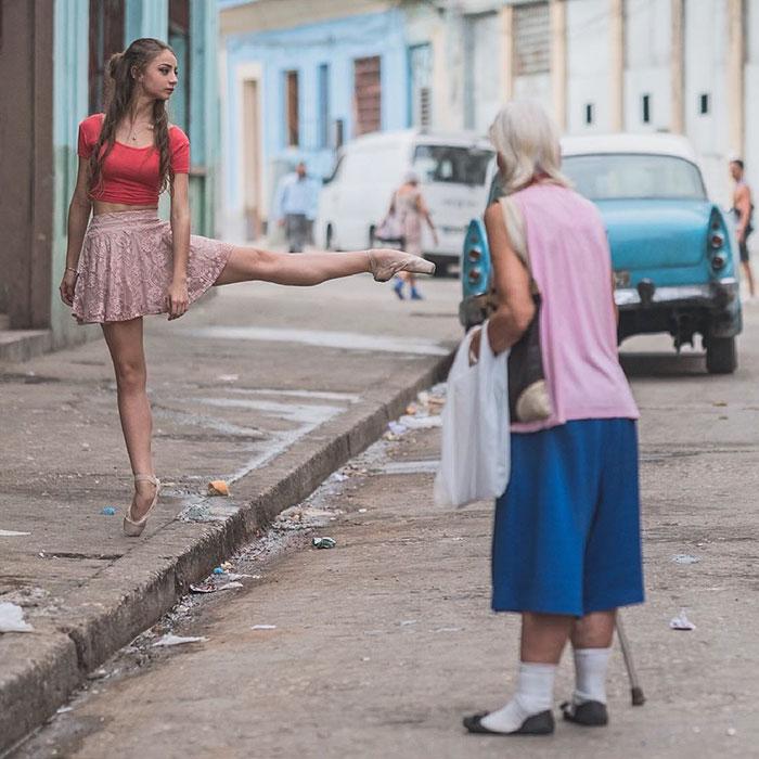 Балет на улицах Кубы