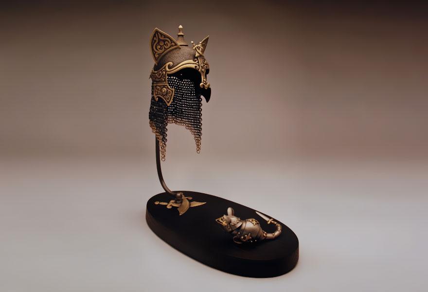 Броня для кошек и мышей от Джеффа де Бура