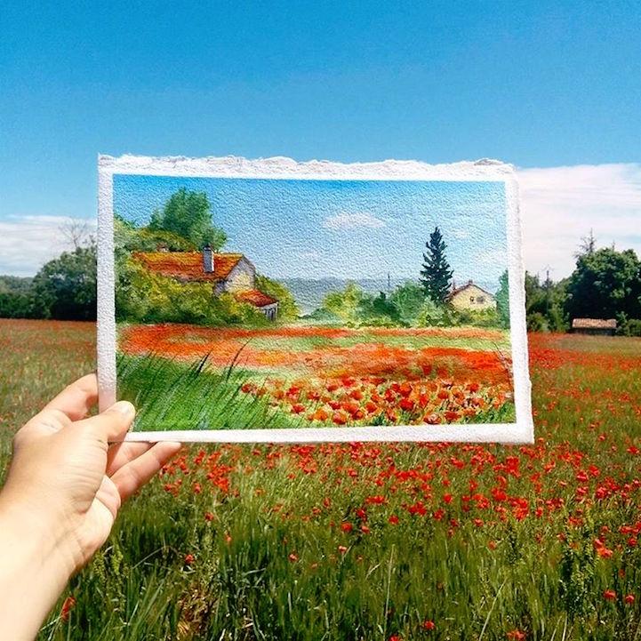 Акварельные пейзажи от Елены Ефремовой
