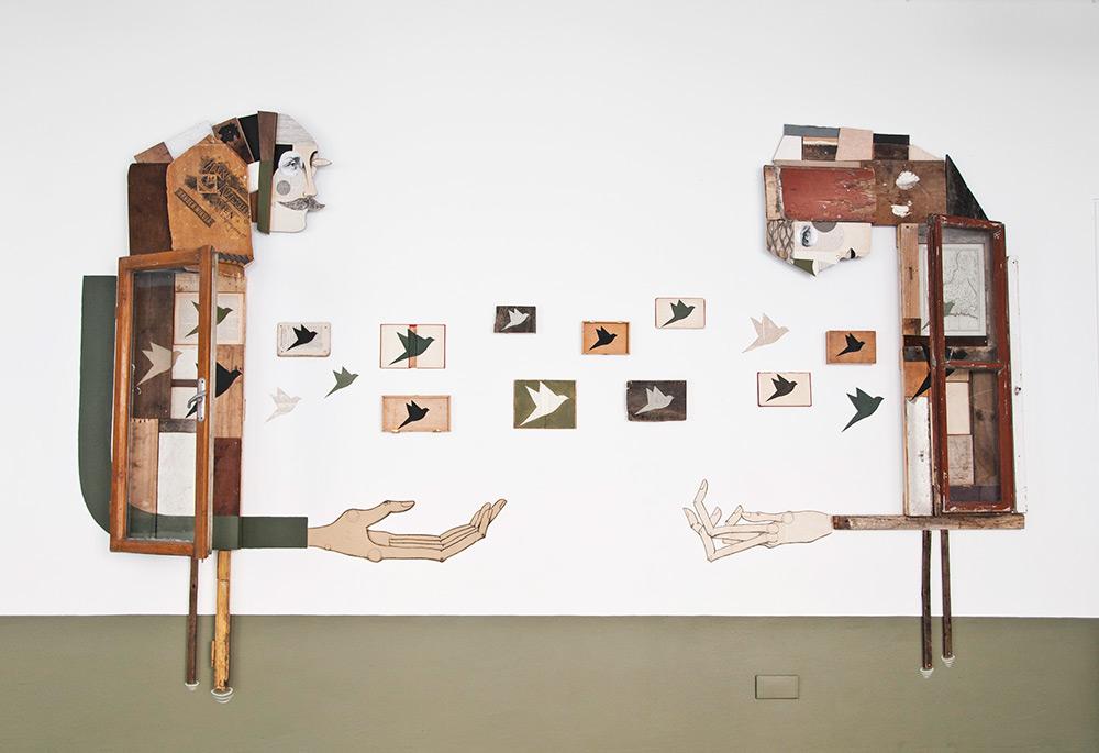 Деревянные инсталляции от Expanded Eye