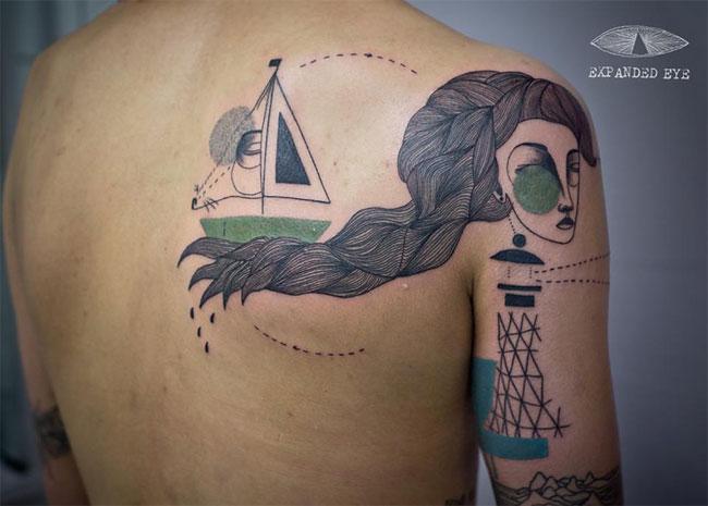 Оригинальные татуировки от Джейда Томлинсона и Кева Джеймса.