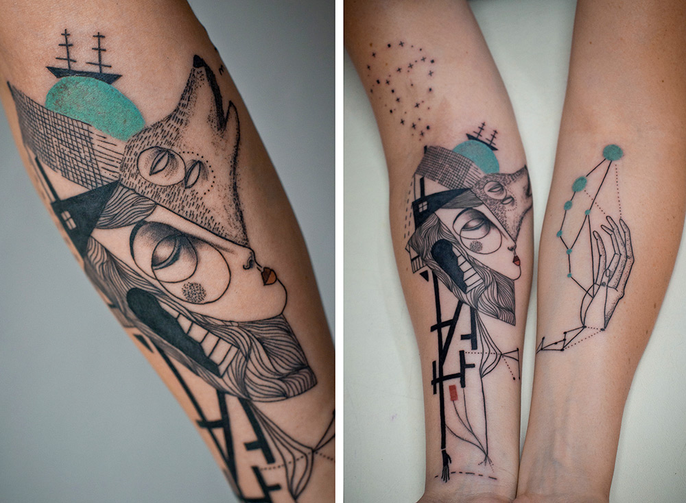 Татуировки от Джейда Томлинсона и Кева Джеймса
