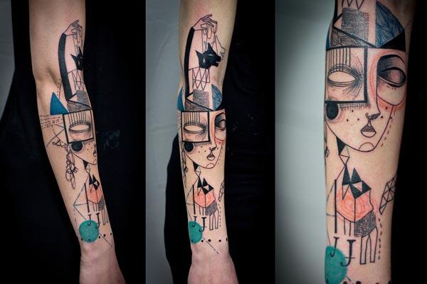 Оригинальные татуировки от Джейда Томлинсона и Кева Джеймса