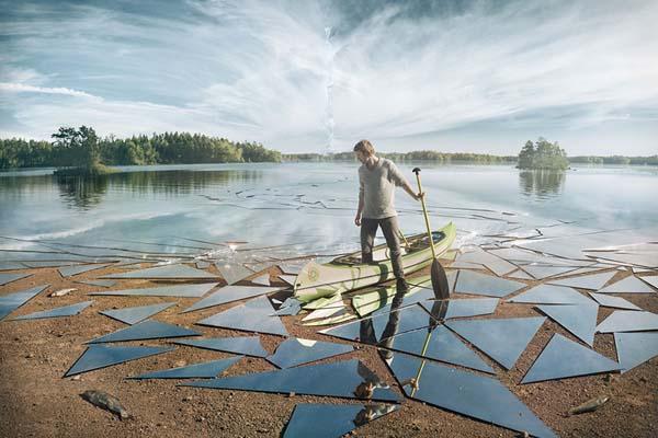 17 квадратных метров зеркала и месяцы работы для создания эпического снимка