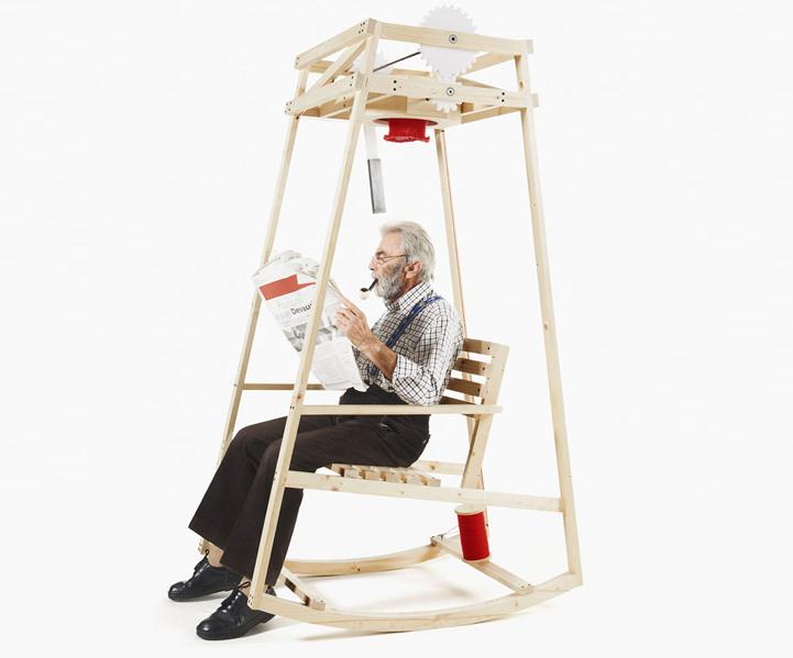 Гениальное кресло-качалка