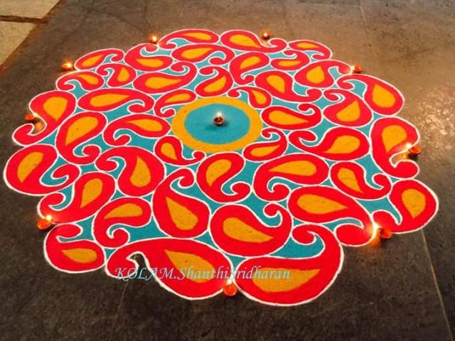 Мандалы от Шанти Шридхарана