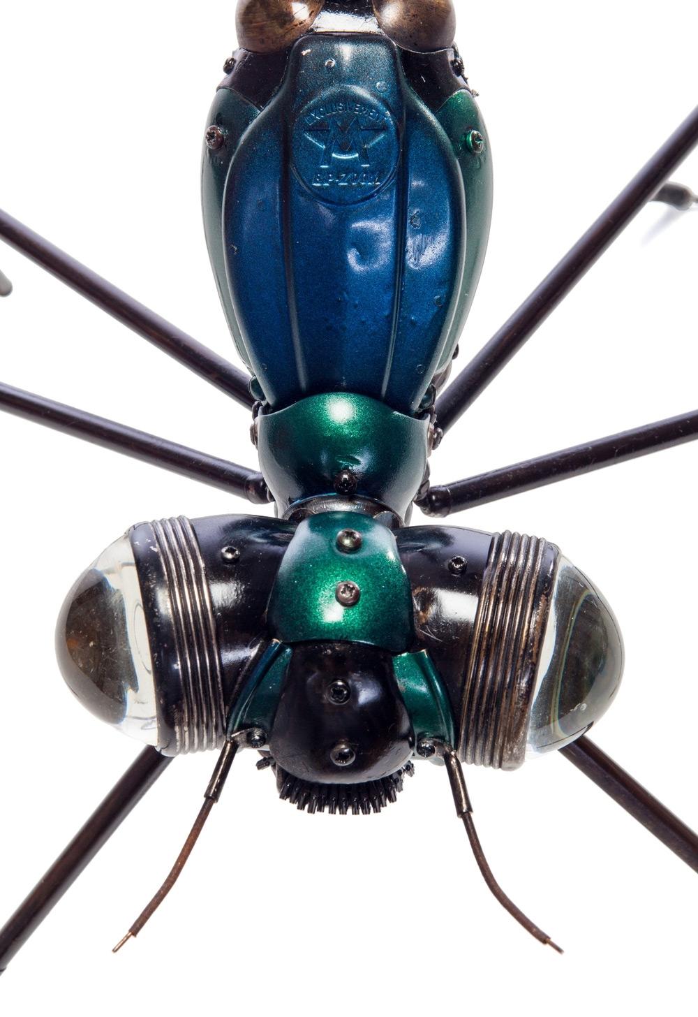 Скульптуры животных и насекомых от Эдуарда Мартинета