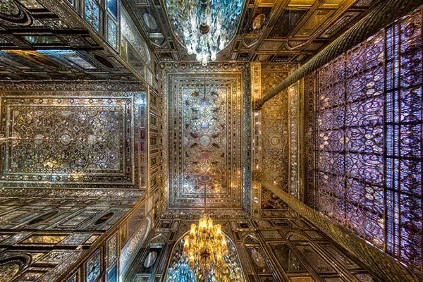 Завораживающие потолки изысканной иранской архитектуры