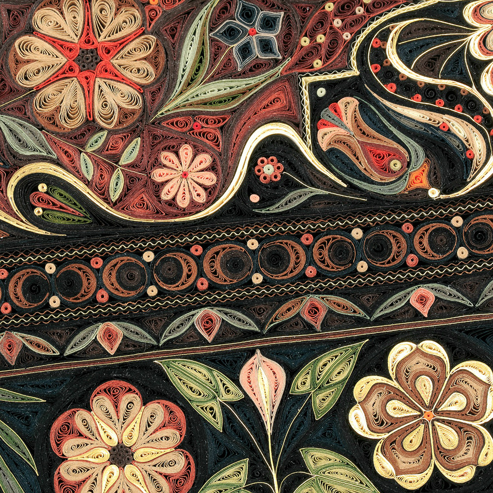 Произведения из скрученной бумаги от Лизы Нильссон