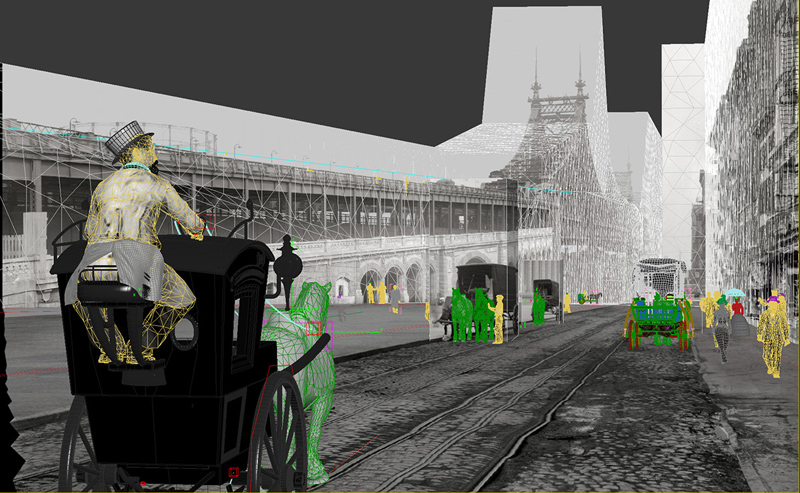 старый новый мир, анимация на основе фотографий, Алексей Захаров