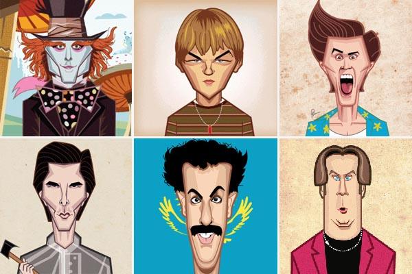 ГИФки, обобщающие карьеры известных актёров