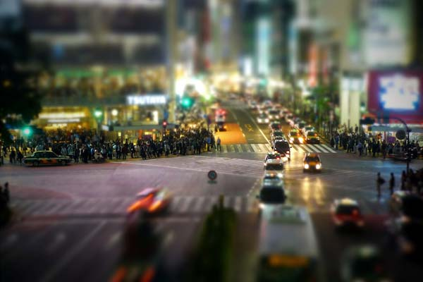 Фотографии с tilt-shift эффектом превращают Токио в миниатюрный игрушечный город