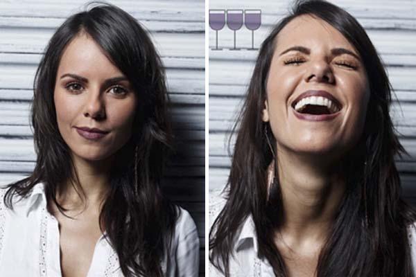 Как выглядят люди после 1, 2, и 3 бокалов вина