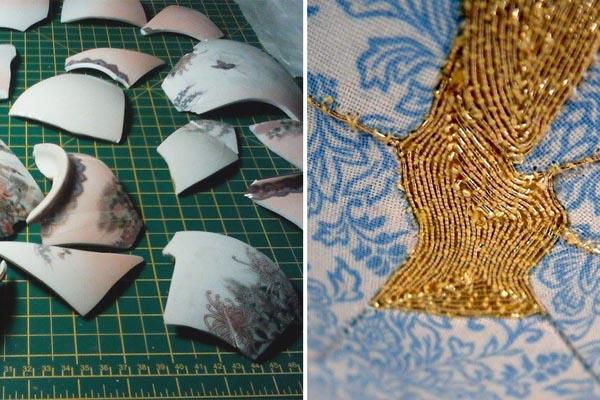Необыкновенная техника восстановления керамических изделий