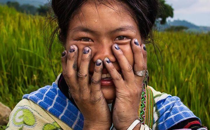Жители Вьетнама в серии фотографий «Скрытая улыбка»