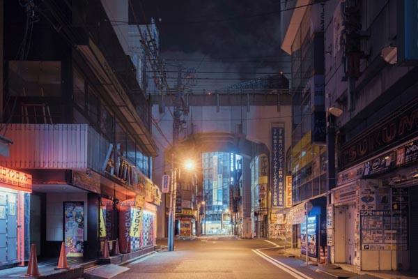 Очарование спящего Токио в фотографиях Франка Бохбота