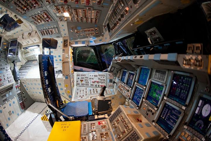 Экскурсия по космическому кораблю.