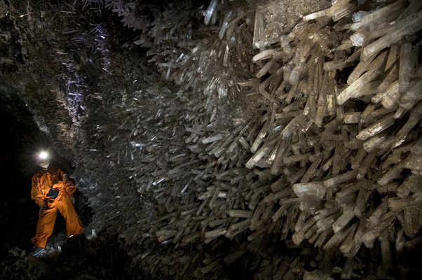 Пещера кристаллов. Мексика