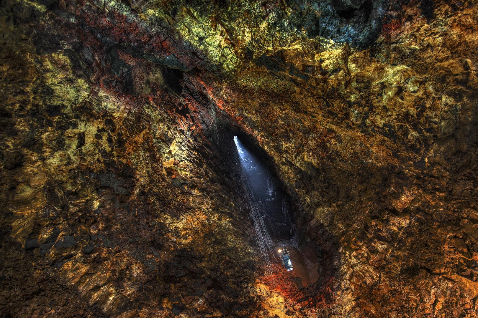 Вулканический очаг под вулканом Тринукагигур. Исландия