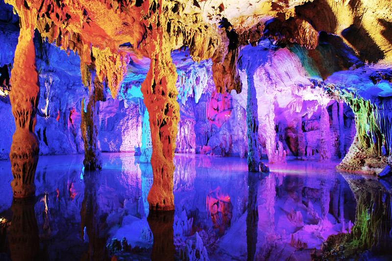 Пещера Тростниковой флейты. Гуйлин, Китай
