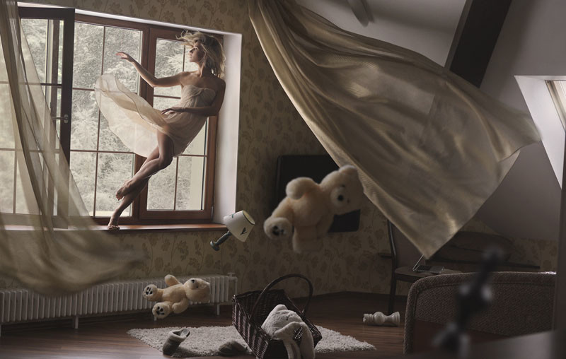 Полёт фантазии: фотографии Равшании Азулэ