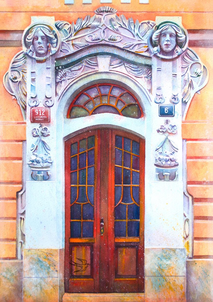 Акварельная живопись от Виктории Кравченко