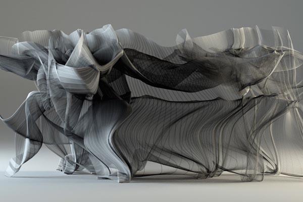 Потрясающая визуализация невидимых движений в кунг-фу