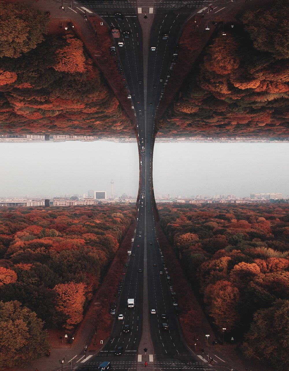 Сюрреалистические фотоманипуляции Лорана Россе