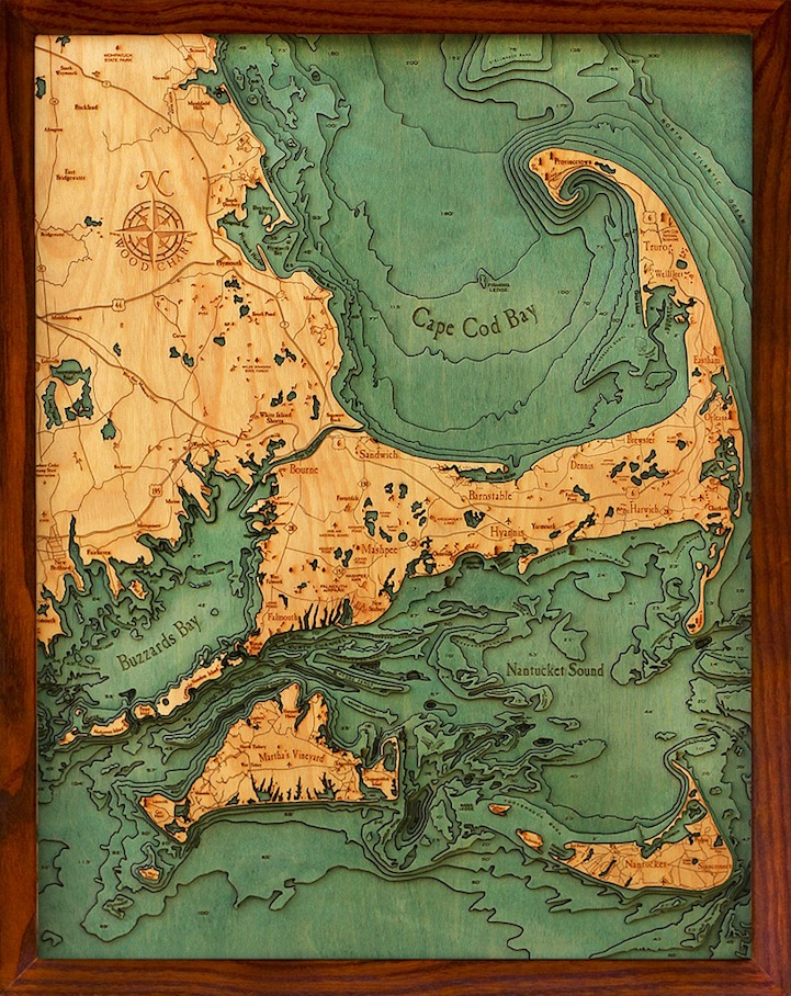 Тактильные карты от Робби и Кары Джонсонов